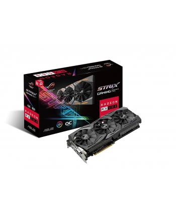 Karta VGA Asus RX 580 OC 8GB GDDR5 256bit DVI+2xHDMI+2xDP PCIe3.0