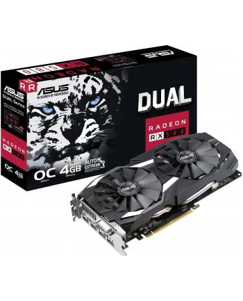 Karta graficzna ASUS Radeon RX 580 Dual O4G, 4096 MB GDDR5