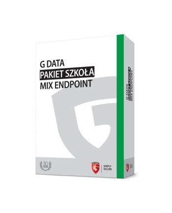 G DATA Pakiet Szkoła MIX Endpoint BOX do 100PC 2 LATA