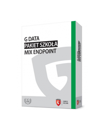 G DATA Pakiet Szkoła MIX Endpoint BOX do 50PC 1 ROK