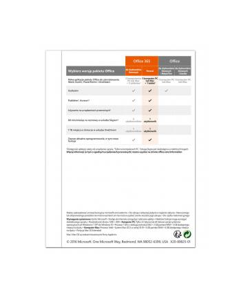 MICROSOFT OEM Licencja ESD Office 365 Personal - Licencja na subskrypcję (1 rok) - 1 PC/Mac + 1 tablet - 32/64-bit - Wszystkie języki