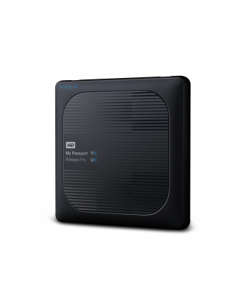 WESTERN DIGITAL Dysk WD My Passport Wireless Pro 4TB WiFi AC, SD, USB 3.0, Black