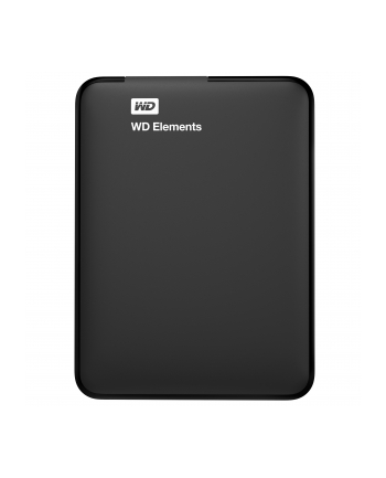 WESTERN DIGITAL Dysk WD Elements Portable 4TB USB3.0/USB2.0 Black