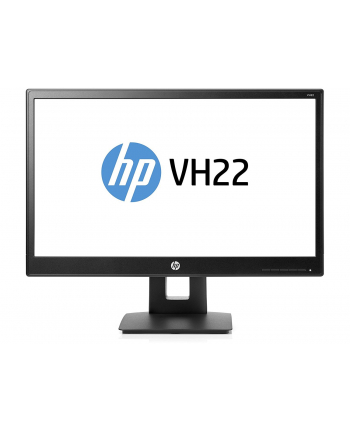 Monitor Hewlett-Packard VH22 - 21.5 - LED - DisplayPort, DVI-D, VGA