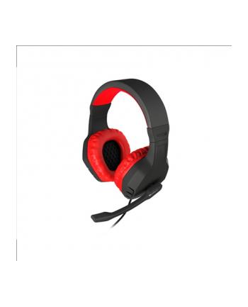 NATEC Słuchawki dla graczy Genesis Argon 200 czerwone