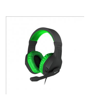NATEC Słuchawki dla graczy Genesis Argon 200 zielone