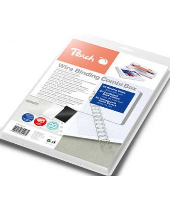 Peach Zestaw do bindowania grzbietem drutowym Combi Box PW064-07