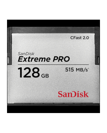 SanDisk Compact Flash EXTREME PRO CFAST 2.0 128 GB 525MB/s VPG130