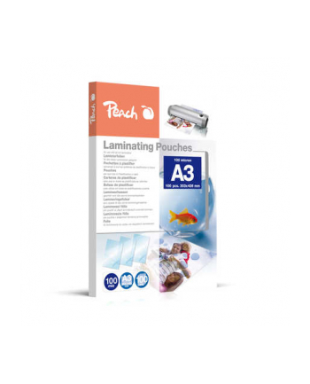Peach Folie do laminowania A3 (303x426mm), 100mic (100 szt.)