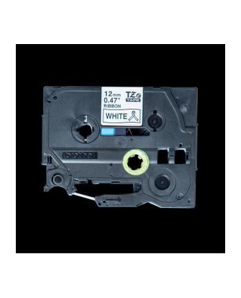 Taśma Brother 12mm Black/White ribbon tape