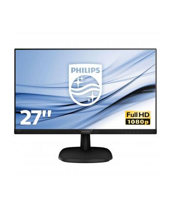 Monitor Philips 273V7QJAB/00, 27inch, IPS, Full HD, HDMI, DP, D-Sub, Głośniki
