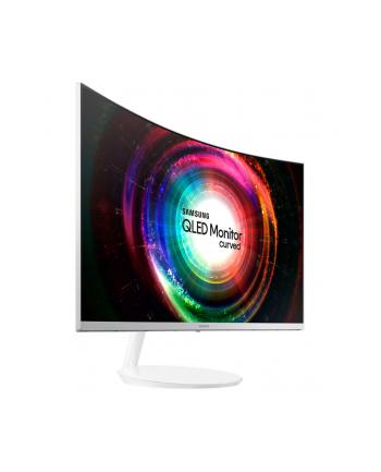 Monitor Samsung LC32H711QEUXEN, 31,5'', WQHD, VA, Curved, biały, Q-Dot, FreeSync