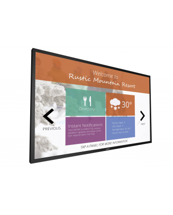 Monitor dotykowy Philips 55'' 55BDL4051T/00, 10 punktów dotyku