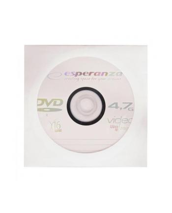 DVD-R ESPERANZA [ envelope 1 | 4.7GB | 16x ] - karton 500