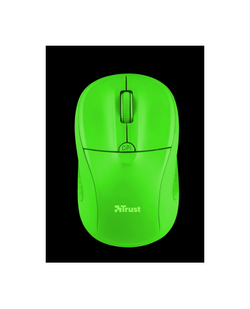 Trust Primo Wireless Mouse - neon green