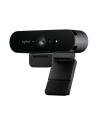 Kamera internetowa Logitech webcam BRIO Brio Ultra HD Pro 4K 960-001106 - USB / obsługa funkcji Windows Hello - nr 154