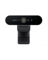 Kamera internetowa Logitech webcam BRIO Brio Ultra HD Pro 4K 960-001106 - USB / obsługa funkcji Windows Hello - nr 170