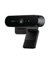 Kamera internetowa Logitech webcam BRIO Brio Ultra HD Pro 4K 960-001106 - USB / obsługa funkcji Windows Hello - nr 173