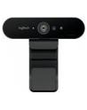 Kamera internetowa Logitech webcam BRIO Brio Ultra HD Pro 4K 960-001106 - USB / obsługa funkcji Windows Hello - nr 226