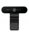 Kamera internetowa Logitech webcam BRIO Brio Ultra HD Pro 4K 960-001106 - USB / obsługa funkcji Windows Hello - nr 22