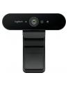 Kamera internetowa Logitech webcam BRIO Brio Ultra HD Pro 4K 960-001106 - USB / obsługa funkcji Windows Hello - nr 25