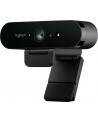 Kamera internetowa Logitech webcam BRIO Brio Ultra HD Pro 4K 960-001106 - USB / obsługa funkcji Windows Hello - nr 259