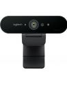 Kamera internetowa Logitech webcam BRIO Brio Ultra HD Pro 4K 960-001106 - USB / obsługa funkcji Windows Hello - nr 263