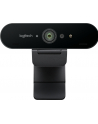Kamera internetowa Logitech webcam BRIO Brio Ultra HD Pro 4K 960-001106 - USB / obsługa funkcji Windows Hello - nr 266
