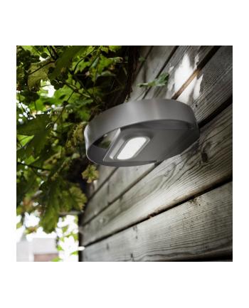 GreenBlue GB130 Solarna lampa ścienna okrągła LED 3W