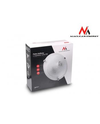 Maclean MCE22 Plafon sufitowy z czujnikiem pir lampa 2x40w E27