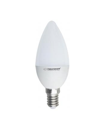 Esperanza ELL146 LED BULB-E14/6W/lm580/3000h/CRI 80/37x100mm/kąt świecenia270