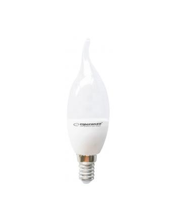 Esperanza ELL149 LED BULB-E14/6W/lm580/3000h/CRI 80/37x132mm/kąt świecenia270