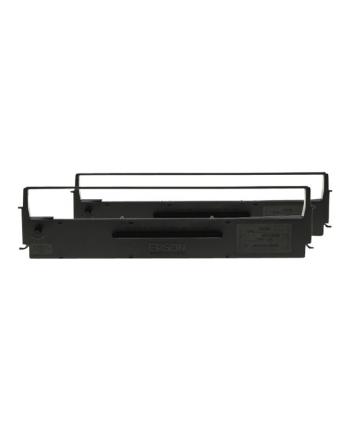 Taśma Epson czarna | LQ-350/300+/300+II | dualpack
