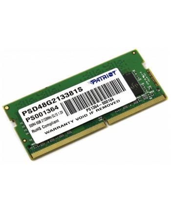 Patriot DDR4 8 GB SODIMM 2133 MHz