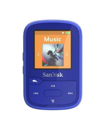 Sandisk odtwarzacz MP3 16GB CLIP SPORT PLUS  - niebieski