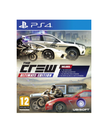 UBISOFT Gra The Crew Ultimate Edition PCSH (PS4)