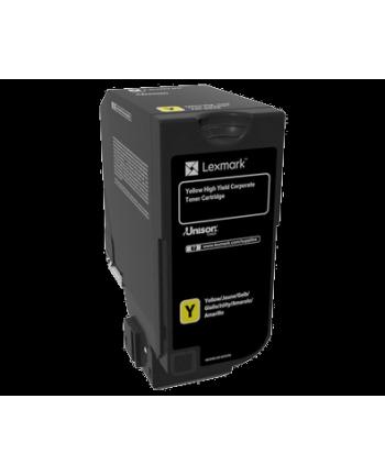 Zwrotna kaseta z tonerem Lexmark yellow | 12 000 str. | CS725de / CS725dte