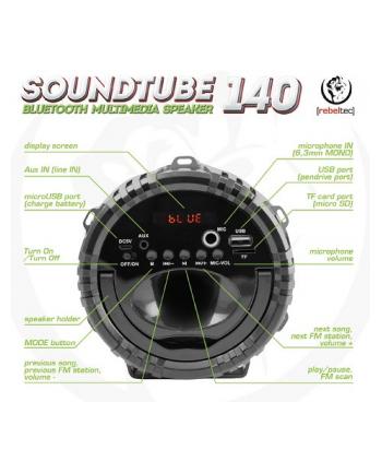 Głośnik bluetooth Rebeltec SoundTube 220 BLACK