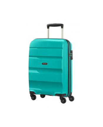 Wózek spinner AT SAMSONITE 85A31001 BonAir Strict S 55 4koła, bagaż, turkusowy