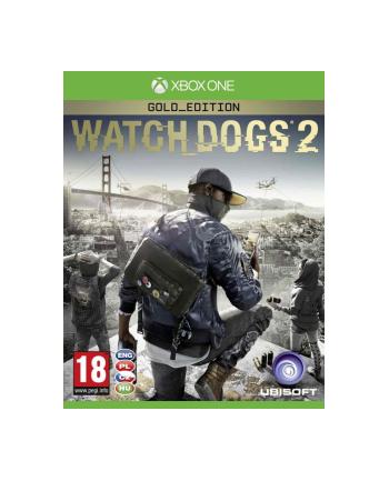 UBISOFT Gra WATCH DOGS 2 GOLD EDITION PCSH (XBOX ONE)