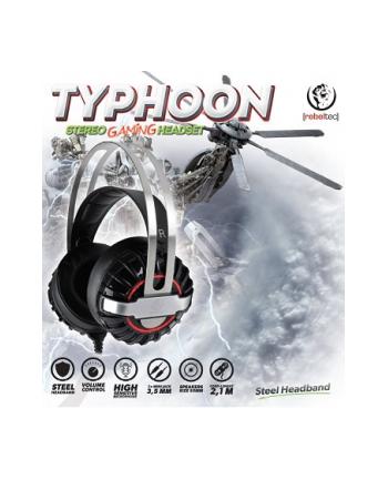 Słuchawki dla graczy stereo z mikrofonem Rebeltec TYPHOON