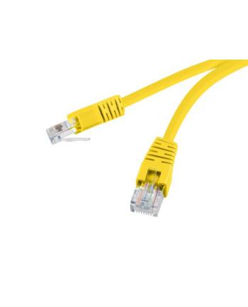 Patch cord UTP kat. 6 0,5 m żółty Gembird