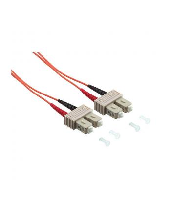 Patchcord światłowodowy LogiLink OM2 SC-SC 20m 50/125µ duplex