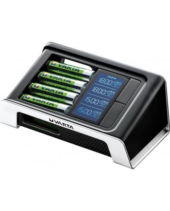 VARTA BATERIE Ładowarka VARTA LCD Ultra Fast Charger + 4 akumulatory AA 2400 mAh Ready To Use
