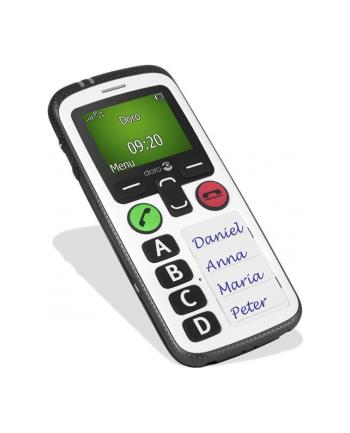Doro Secure 580 czarny/biały (380360)