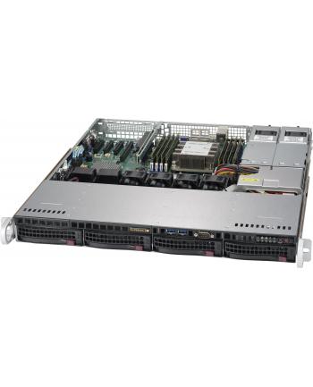 Supermicro SYS-5019P-MTR, LGA 3647, 1U, 4x3,5'', 1xPCIe x16, 2x10GbE, 1x400W