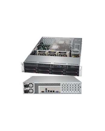 Supermicro SYS-6029P-TR, Intel LGA 3647, 2U, 8x3,5'',2xPCIe x16, 2x10GbE,2x1000W