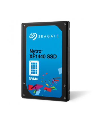 SEAGATE Nytro SSD 1600GB 2.5inch PCIe Gen3×4 NVMe 1.2a NAND Flash Type eMLC Sector Size Support 512 / 4K Endurance Optimized