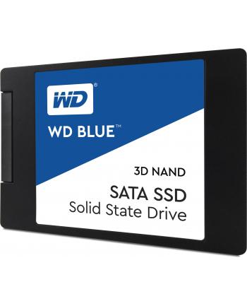Western Digital Dysk WD Blue SSD 2.5'' 250GB SATA/600, 550/525 MB/s, 7mm, 3D NAND