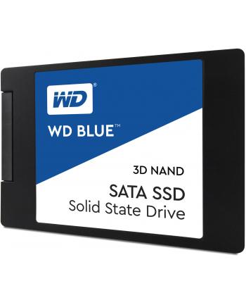 Western Digital Dysk WD Blue SSD 2.5'' 500GB SATA/600, 560/530 MB/s, 7mm, 3D NAND